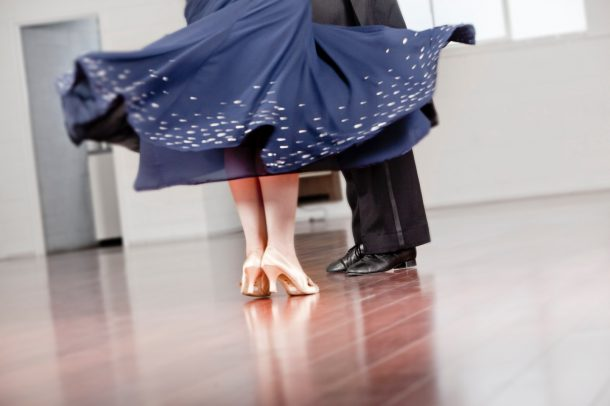 Waltz Dance Footwork